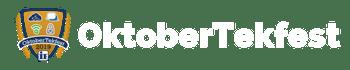 OktoberTekfest Horizontal Logo - White - Large (1)